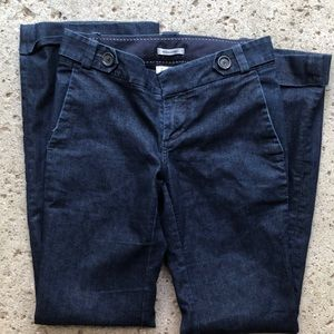 Banana Republic fancy jeans with cuffs size 2